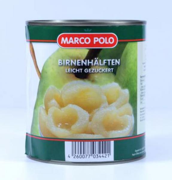 Marco polo Birnenhälften 850ml