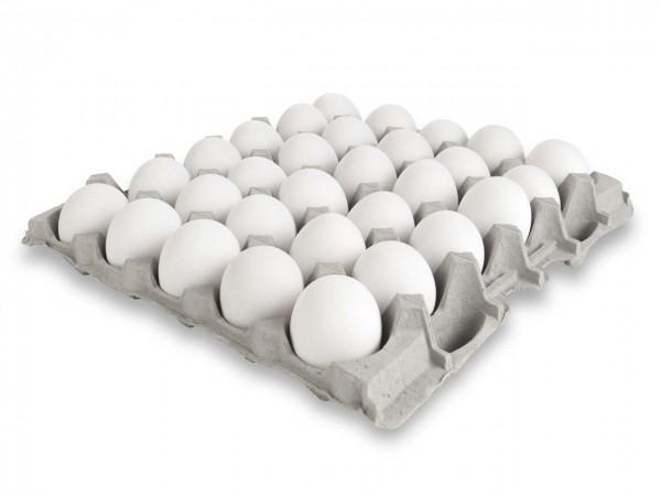 Eier 30 Stk. weiß
