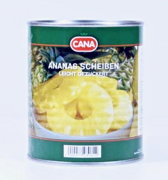 Cana Ananas Scheiben 850ml