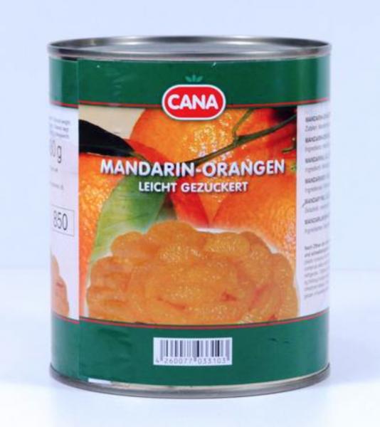 Cana Mandarin-Orangen 850ml