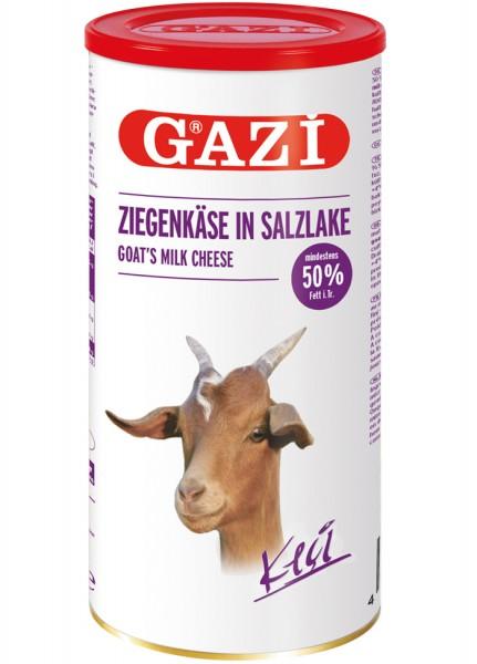 Gazi Ziegenkäse in Salzlake 50% Fett